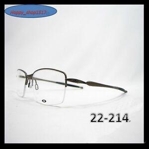 823818eaaa8 Image is loading Eyeglass-Frames-Oakley-Transistor-22-214-Pewter-22-