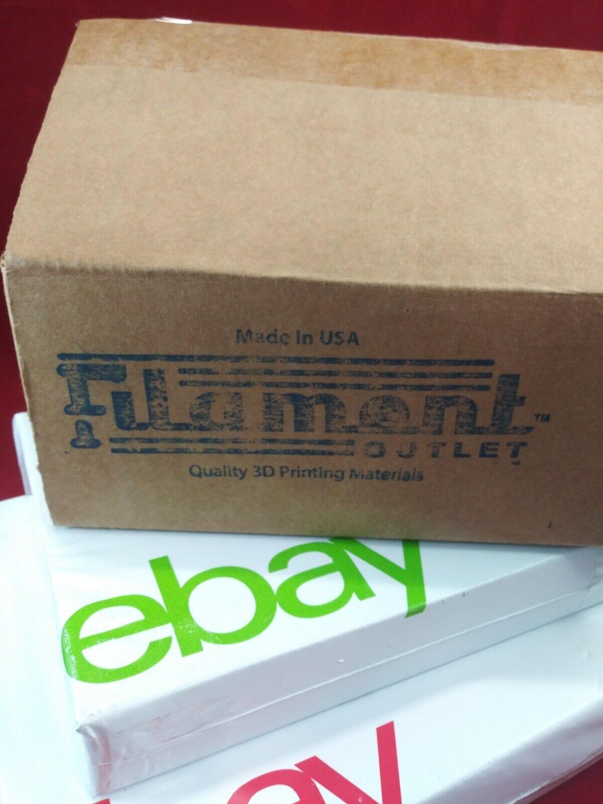 Filament Outlet Blue PLA 1.75mm 3D Printer Filament 1kg (2.2lbs) spool USA Ship