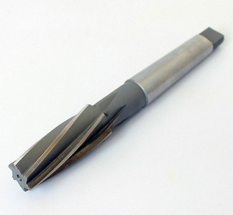 Select Größe 8mm to 46mm Spiral Taper HSS Morse Taper Shank Milling Reamer