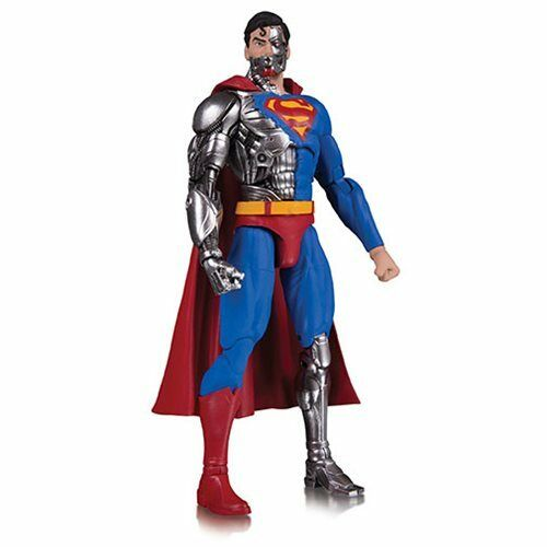 DC Essentials Action Figure Cyborg Superman - Preorder Agosto