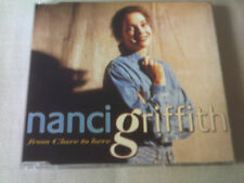NANCI GRIFFITH - FROM CLARE TO HERE - 1993 UK CD SINGLE
