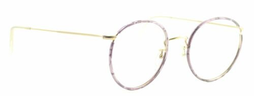 B.O.I.C. SAVILE ROW GoldPurple 50mm FRAMES RX Optical Eyeglasses GlassesNOS