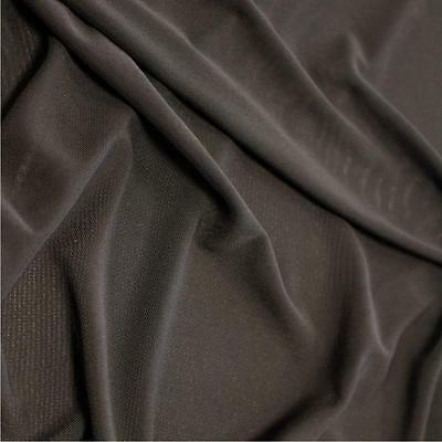 BLACK Power Mesh Net Stretch Body Fabric material 150cm wide dance fancy dress