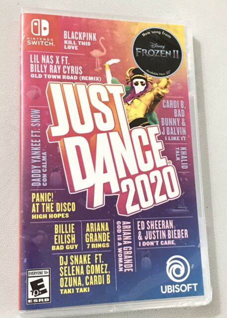 Just Dance 2020 Nintendo Switch - Brand New & Sealed! Free Shipping
