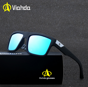 c8762d795f8d Image is loading VIAHDA-Men-Sport-Outdoor-Polarized-Sunglasses-Driving- Fishing-