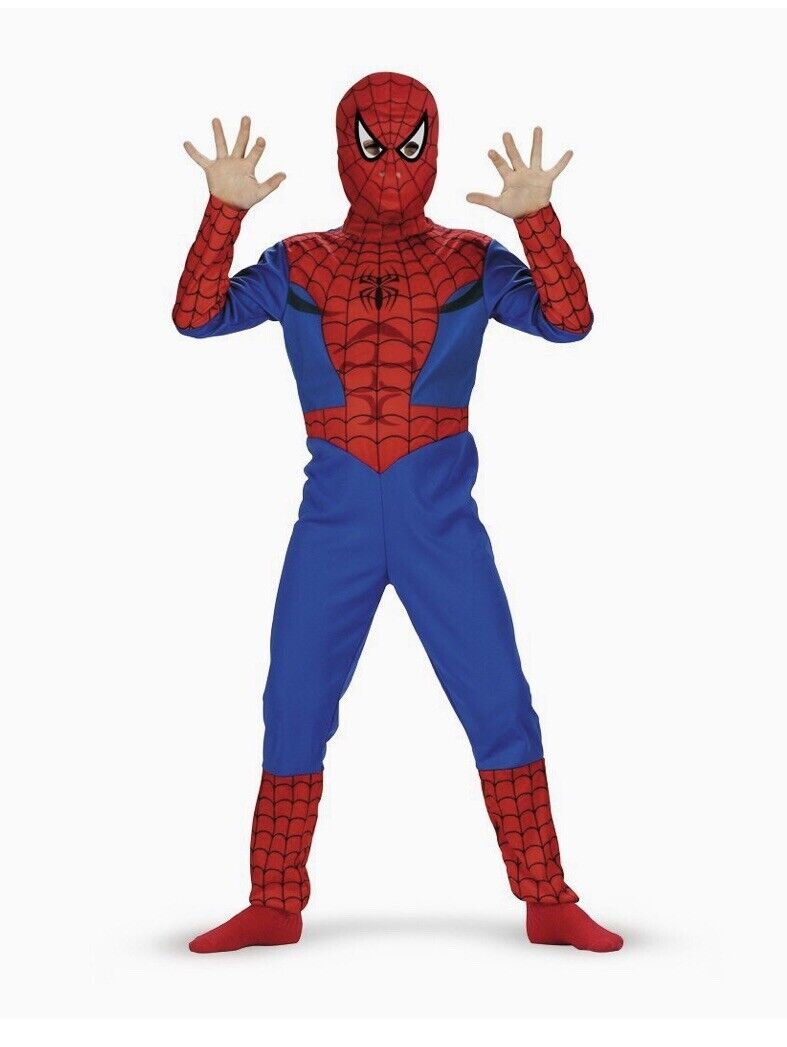 Kids Spiderman Costume by Disguise Size 10-12