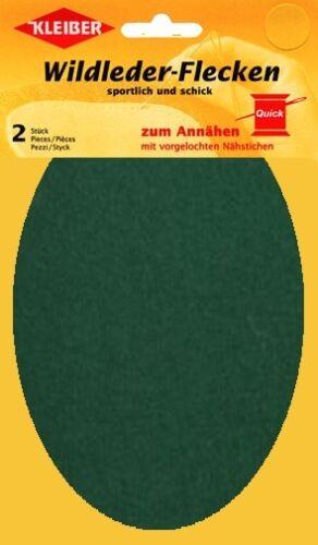 grün Kleiber Wildleder Flecken *lang* 2St