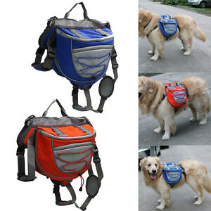 Pet-Pack-Dog-Puppy-Saddle-Bag-Carrier-Backpack-for-Travel-Hiking-Camping-Harness
