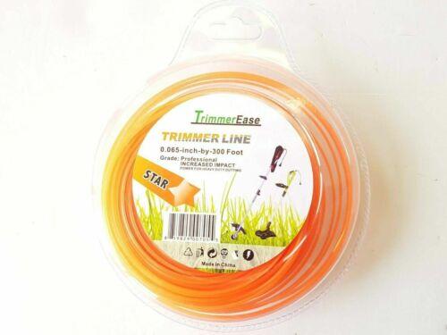 ".065/"" x 300 FT 1.65MM Grass Weed String Trimmer Line Edger 0.065/"" X 300/' V TL03"