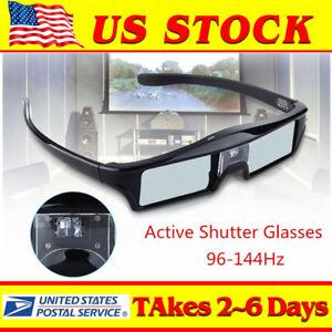 3D-DLP-Link-144Hz-Active-Shutter-Glasses-3-7V-USB-Fr-Acer-BenQ-SAMSUNG-Projector
