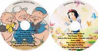 18 Children Stories on 2 CD SET Classic Children's Story Kids books Audio