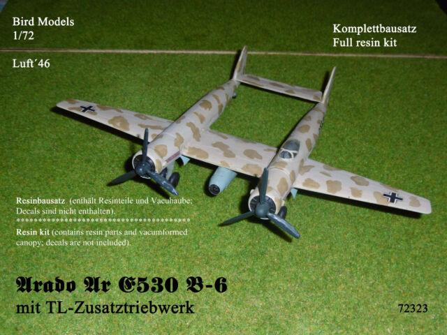Arado Ar E530 B-6 mit TL-Antrieb    1/72 Bird Models Resinbausatz / Resin kit
