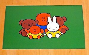 039-WITH-LOVE-FROM-MIFFY-039-POSTCARD-MIFFY-AND-FRIENDS-1992-DESIGN-DICK-BRUNA