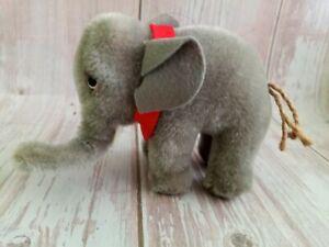 Vintage 60's Steiff Mohair Elephant