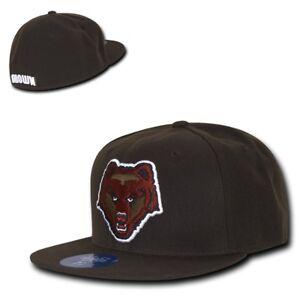 Brown University Bears NCAA Flex Baseball Fitted Ball Fit Cap Caps Hat Hats