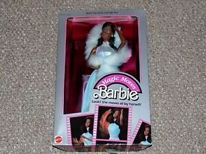 1985-Mattel-African-American-Magic-Moves-Barbie-MIB-Brand-New-2127