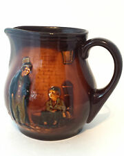 Royal Doulton Kingsware The Artful Dodger Oliver Twist Dickens Whiskey Water Jug
