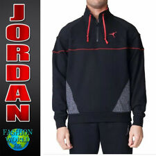 795b0e38b610c9 item 7 Nike Size Large Air Jordan 3 Vault 1 4 Zip Pullover Jacket Black Red  914522-010 -Nike Size Large Air Jordan 3 Vault 1 4 Zip Pullover Jacket Black  Red ...