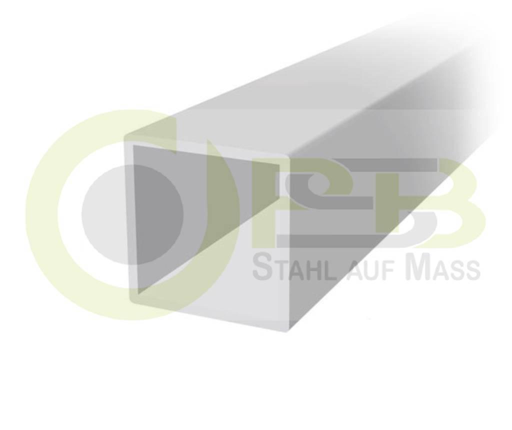 aluminium quadratrohr aluminium vierkantrohr 1000 mm bis 2000 mm l ngen ebay. Black Bedroom Furniture Sets. Home Design Ideas