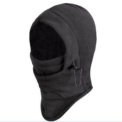 New Black Thermal Balaclava Hood Outdoor Swat Ski Winter Windproof Face Mask Hat