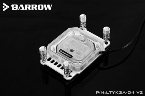 Barrow LTYK3A-04 V2 Water Cooling CPU Block for AMD AM2 AM3 AM4 5v RGB