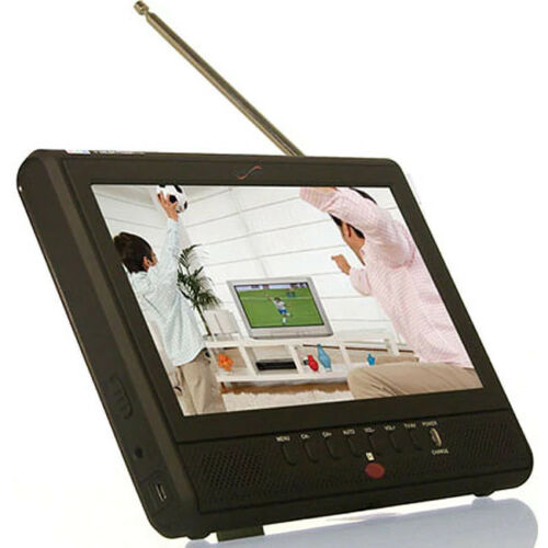 """Supersonic Portable SC195D 7/"""" AC//DC LCD Built-in Battery TV"""