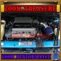Black Blue 1990-93 Chevy Lumina/oldsmobile Cutlass Supreme V6 Z34 Air Intake Kit