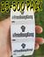 #FREEHONGKONG Political movement 25-500 Pack Stickers Label decal hong kong free