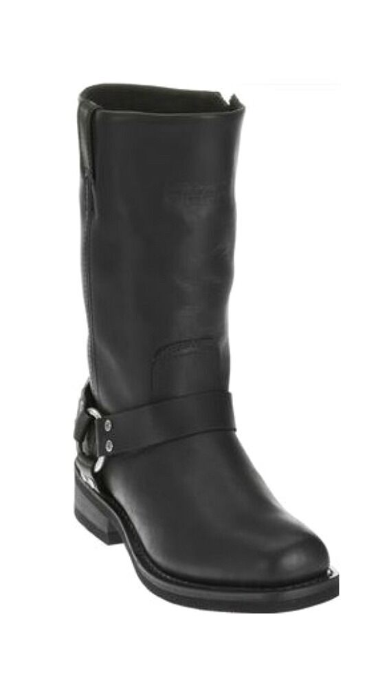 Harley-Davidson ® Para Hombre botas Impermeables De Cuero De La Motocicleta D95353 Hustin