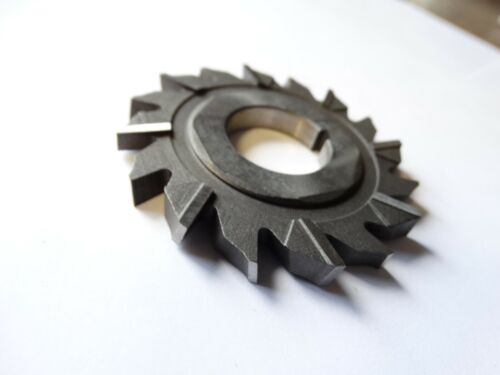 """2 1//2/"""" Dia x 1//4/"""" Wide x 7//8/"""" Hole F/&D HSS Staggered Tooth Side Milling Cutter"""