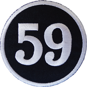 59 Iron On Patch Sew On Jacket Bag Motorbike Motorcycle Biker Embroidered Badge