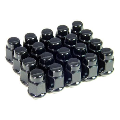 20 Black Lug Nuts