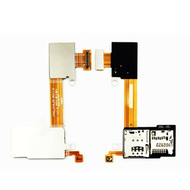 Replace SIM Memory card Socket slot cable for Sony Xperia M2 D2303 D2305 D2306