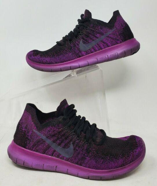 Caucho Belicoso celos  Size 6.5 - Nike Free Rn Flyknit Purple for sale online | eBay