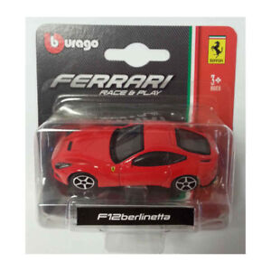 Bburago-56000-Ferrari-F12-Berlinetta-Red-Scale-1-64-Model-Car-New