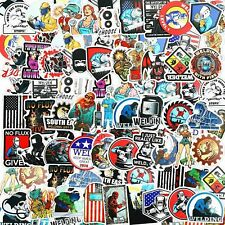 100 Pieces Welding Stickers Hard Hat Stickers Welder Stickers Decals Tool Box S