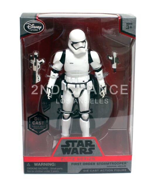 New Disney Store Star Wars Elite Series Diecast First Order Stormtrooper Action