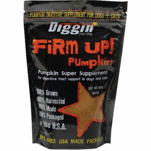 Diggin-Your-Dog-Firm-Up-PUMPKIN-Dog-Cat-Digestive-Health-Supplement-1-oz-USA