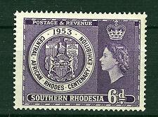 SOUTHERN RHODESIA 1953 CENTENARY EXHIBITION SG76  MNH