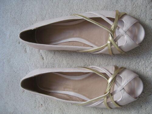 nouveau £ 22.00 Dorothy perkins rose ouvert escarpins taille 5