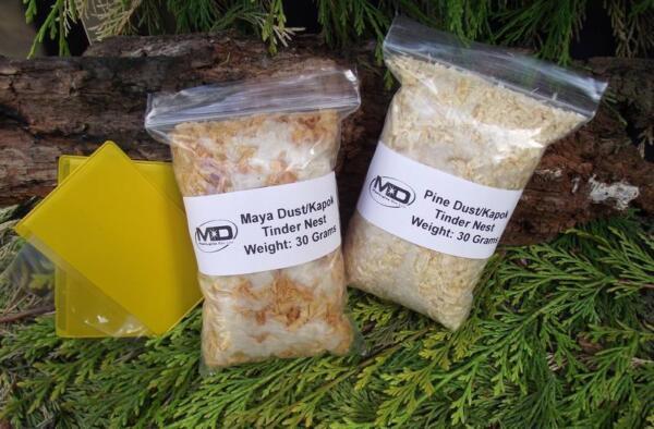 Kapok / Polvere Maya Esca Nido Disambigua Il Kit Include Fresnel Lenti Bushcraft