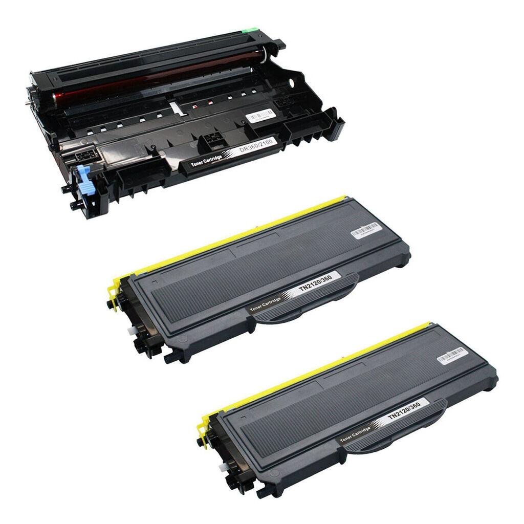 TN360 For BROTHER MFC-7320 HL2140 DCP7040 HL2170W Toner /& Drum DR360