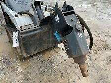 Bobcat 10 Auger Drive Unit For Mt55 Mt85 Amp S70 Skid Steer Loaders Quick Attach