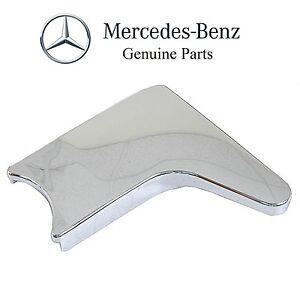 Mercedes r107 380sl 450sl 560sl seat hinge cover left seat for Mercedes benz 450sl interior parts