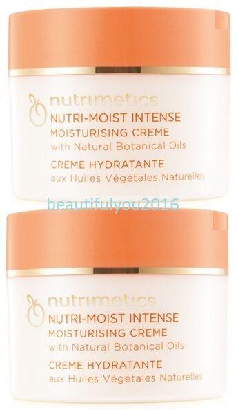 NUTRIMETICS NUTRI-MOIST  INTENSE CREME 125ML X 2 RRP $96
