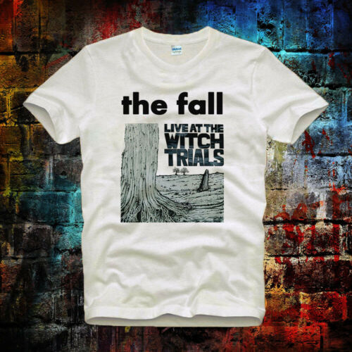 The Fall Live at the Witch Trials band Vintage CooL Unisex/& Ladies T Shirt 373b