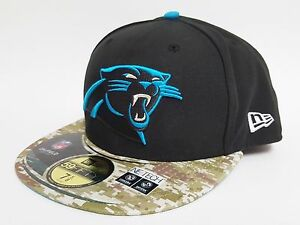 3c8ee14e6 Image is loading New-Era-59FIFTY-CAROLINA-PANTHERS-SALUTE-TO-SERVICE-