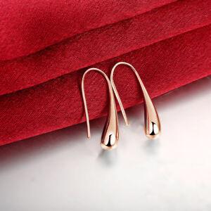 Teardrop-Threaded-Drop-Earrings-in-Rose-Gold-Plating