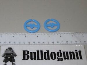 1979-Super-Mr-Potato-Head-2-Blue-Earrings-Mrs-Replacement-Part-Hasbro-Vintage-T