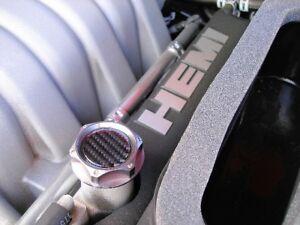 06 09 Dodge Charger Carbon Fiber Billet Engine Oil Cap Ebay